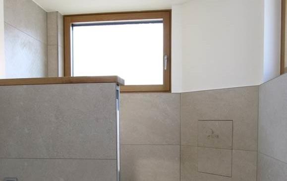 Das Bad im Biosolarhaus ist nun auch endlich fertig!